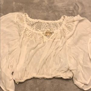Hollister Crop Shirt